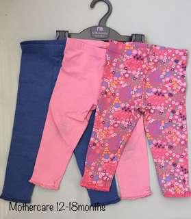 Mothercare Baby Pants 12-18months