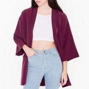 American Apparel Kimono Robe