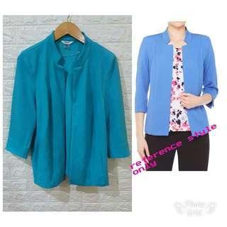 Blazer Branded TANJAY Atasan Baju Blouse Bigsize Jumbo Plussize