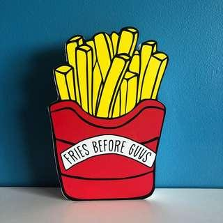 TYPO 🍟 Fries Before Guys 🍟 home decor