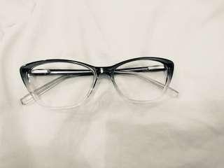 cat eye frames zara kacamata