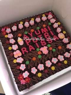 "100 pcs - 12"" -  Brownies"