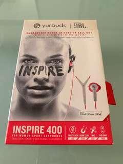 BNIB: JBL Yurbuds Inspire 400 earphone