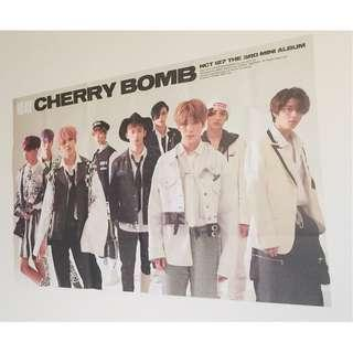 NCT 127 Cherry Bomb POSTER ver A (all members)