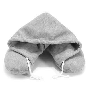 🚚 Travel portable pillow with hood air flight essentials