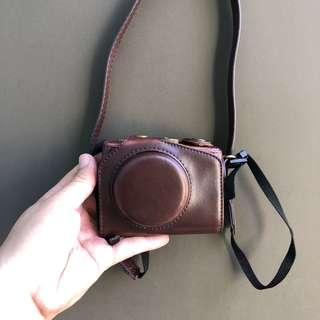 Vintage Camera leather case canon g7x digicam