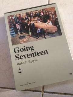 SEVENTEEN 'Going Seventeen' Make It Happen Ver. Full Album + Poster