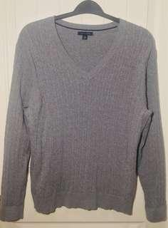 Tommy Hilfiger V-Neck Knit Sweater XXL