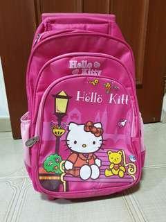 FREE TO TAKE! Hello Kitty Trolley School Bag