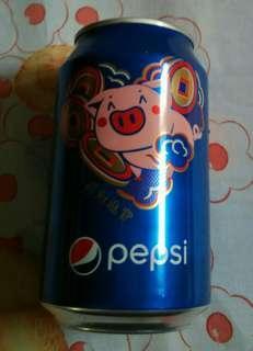 百事豬年紀念罐