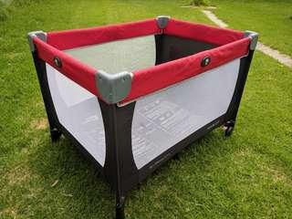 Mascot babylove portacot portable cot with travel bag