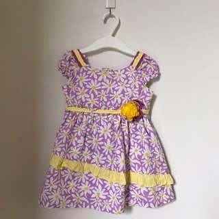 Preloved - Donita Sunflower Dress Size 1