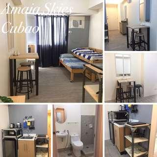 BRANDNEW STUDIO CONDO UNIT (FULLY FURNISHED)