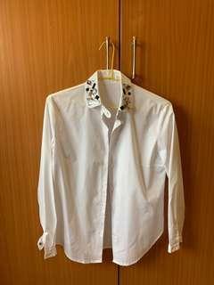 韓寶石領襯衫
