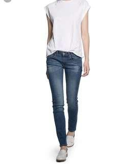 MANGO Cotton Skinny Jeans