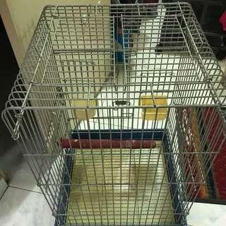 🚚 Cage for medium or large parrot