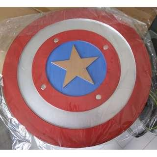 marvel avengers captain america polyurethane foam shield