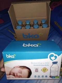Botol kaca ASI (BPA FREE)