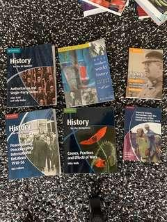 IB Cambridge History Books (Clean, Not annotated)