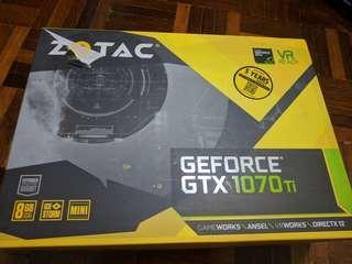 Zotac GTX 1070ti Mini 8GB