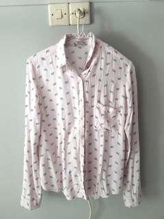 Color box shirt