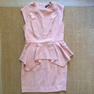 Topshop Peplum Dress