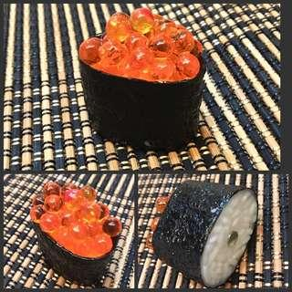 "Daiso ""Ikura Sushi"" Magnet"