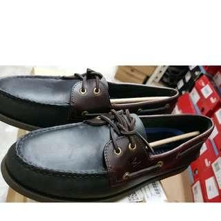 🚚 Sperry Boat Shoes Black/Amaretto