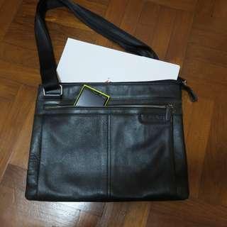 Picard leather messenger bag briefcase laptop bag
