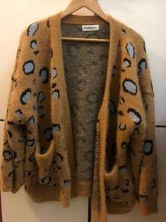 女裝豹紋冷外套