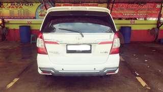 Dijual Mobil Innova G Diesel A/T Putih 2015