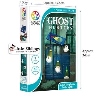 SmartGames - Ghost Hunters - 1 Player IQ Puzzle Game
