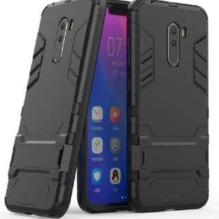 Xiaomi Pocophone F1 Kickstand armor Case