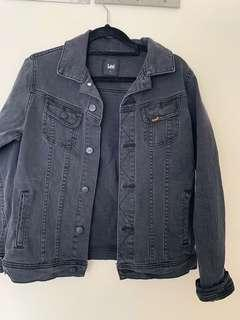 Lee charcoal denim jacket