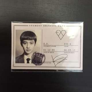 EXO XOXO ID KYUNGSOO PHOTOCARD