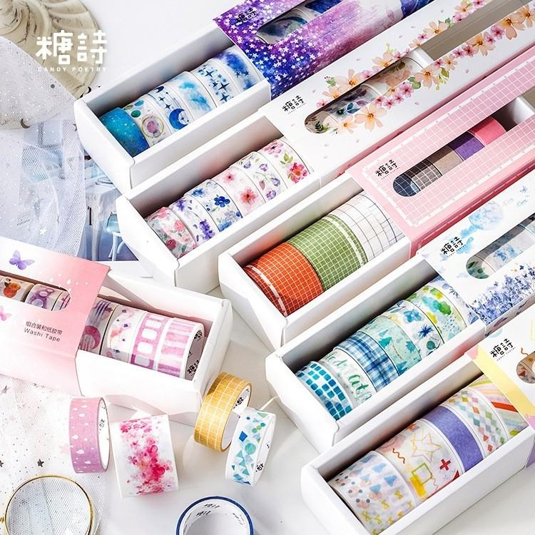 [PO] 10 Roll Washi Tape Set