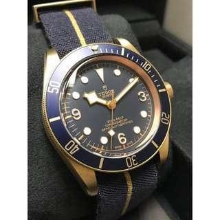 Finally sale!Tudor Black Bay Bronze Bucherer Blue Edition