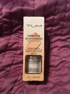 NEW color changing foundation