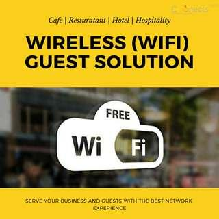Wireless Wifi Guest Hotspot Solutions