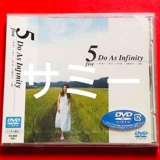 Do As Infinity『5 five』(🇯🇵日本盤DVD)