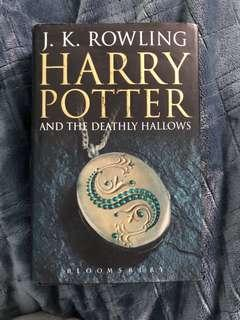 Harry Potter and the Deathly Hallows - First Edition