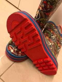 Avengers rain boots