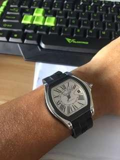 Cartier Roadster S LM Silver Dial