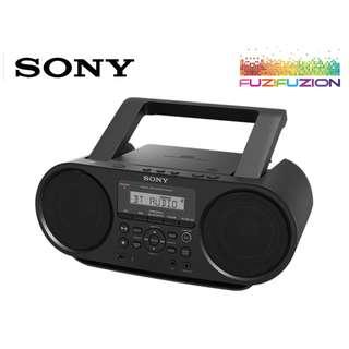 🚚 Sony ZS-RS60BT CD Portable Player Boombox w/ Bluetooth **FREE DELIVERY**
