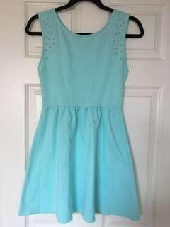 Light Blue Forever 21 Dress