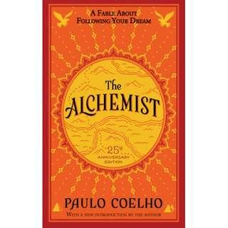 🚚 ALCHEMIST 25TH ANNIVERSARY EDITION (Author: PAULO COELHO, ISBN: 9780062315007)