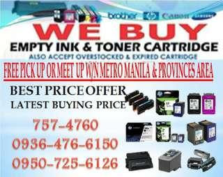 Top Company Buyer of Empty ink cartridges and Toner