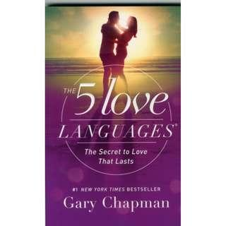 🚚 THE 5 LOVE LANGUAGES (Author: GARY CHAPMAN, ISBN: 9780802412706)