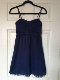 Navy Blue American Eagle Dress