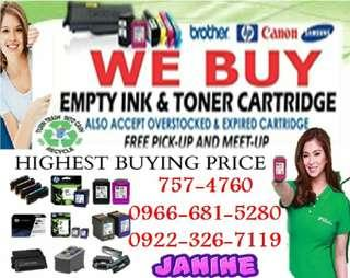 Latest Buying Buyer of Empty ink cartridges and Toner
